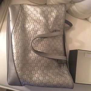 Gucci Bags - Gucci Dionysus Bloom Mini Bag and Silver Tote